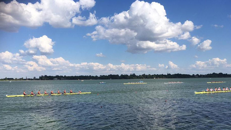 Mens eight at European Universities Champs
