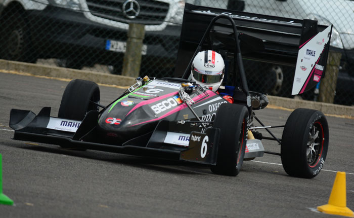 Brookes racing formula car