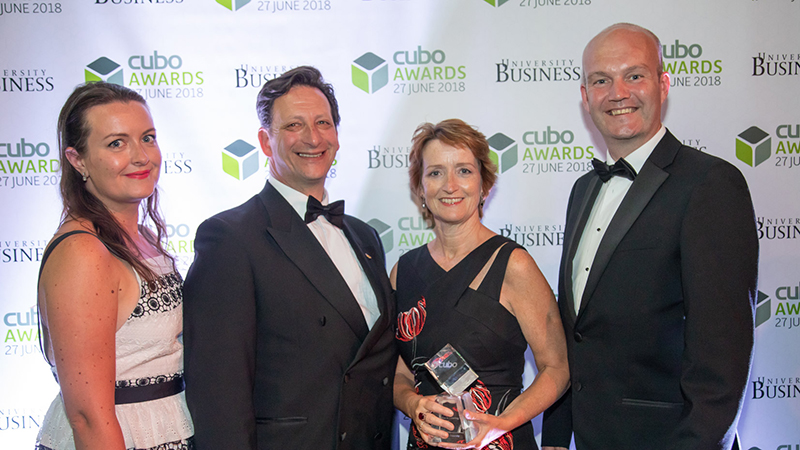 Brookes catering receives award