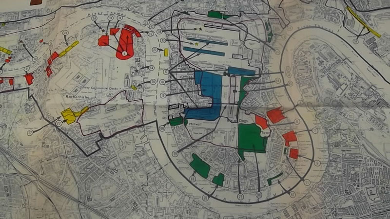 Academics awarded prize for paper on history of Docklands regeneration