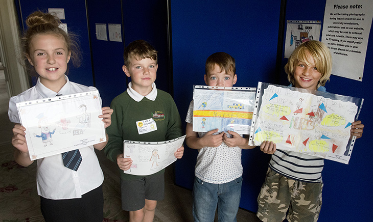 What does a nurse do? drawing competition winners announced