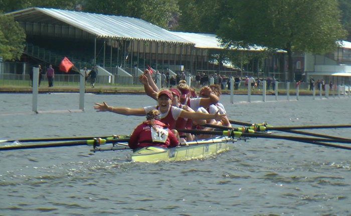 Brookes Women's rowing squad make history at Henley