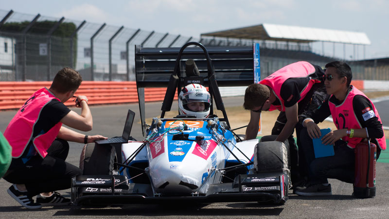 Oxford Brookes Racing crowned as the UK's best student team at Silverstone