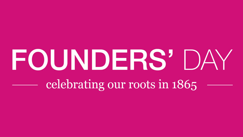 Founders' Day celebrates the visionaries who inspired a University