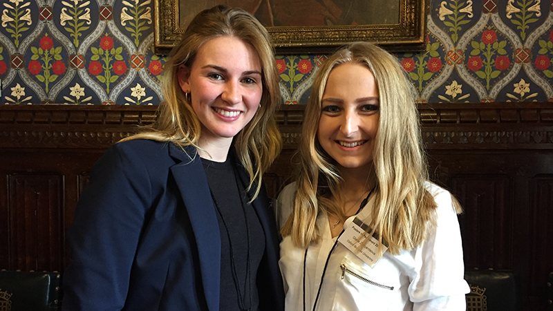 Oxford Brookes students present research in Parliament