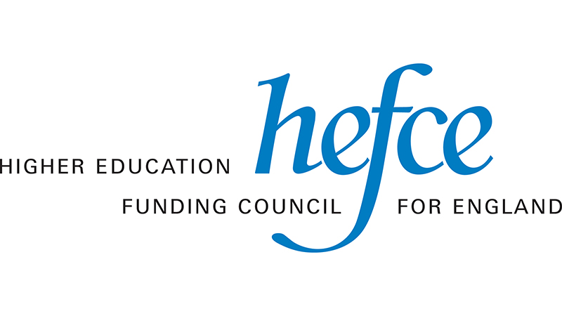 HEFCE logo - funding received for Oxford Brookes pilot