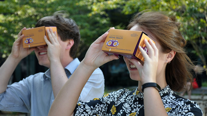 Brookes becomes first University in the UK to offer virtual reality tour