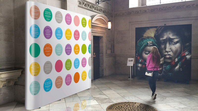 I am a refugee pop-up exhibition at St Paul's Cathedral