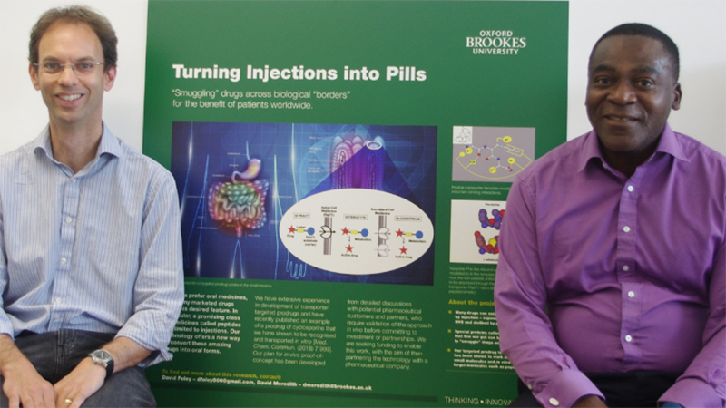 Research team wins award to commercialise oral drug delivery technology
