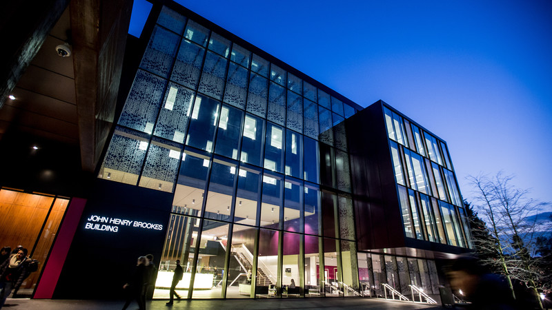 The John Henry Brookes Building at Oxford Brookes University