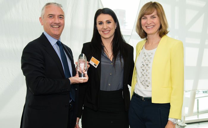 Construction student scoops top prize at Undergraduate of the Year Awards