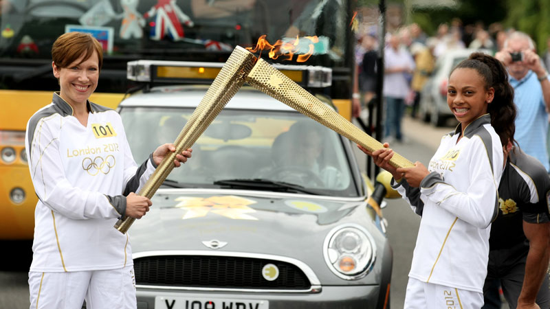 Memories of being a London 2012 Olympic Torchbearer