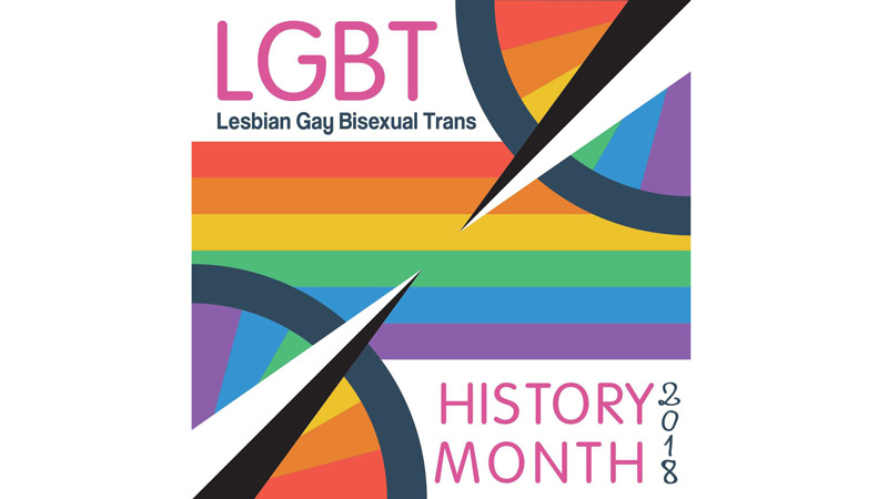 Oxford Brookes raises the Pride Flag and kicks off LGBT+ History Month events