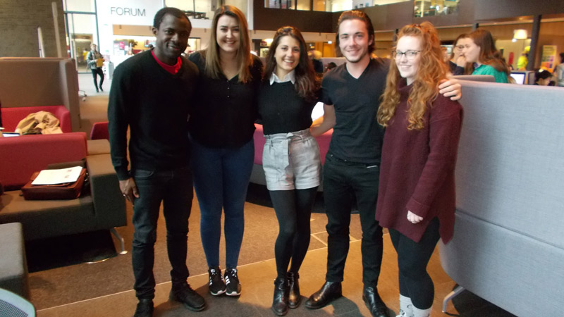 Law students reach finals of international humanitarian law competition