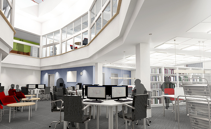 Swindon Library CGI
