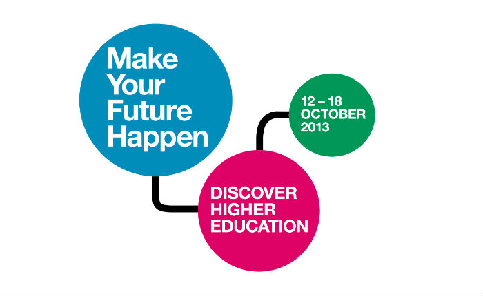 Discover Higher Education logo