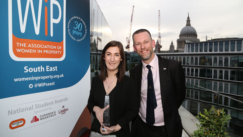 Student to represent South East in national awards to find the most talented young women in property