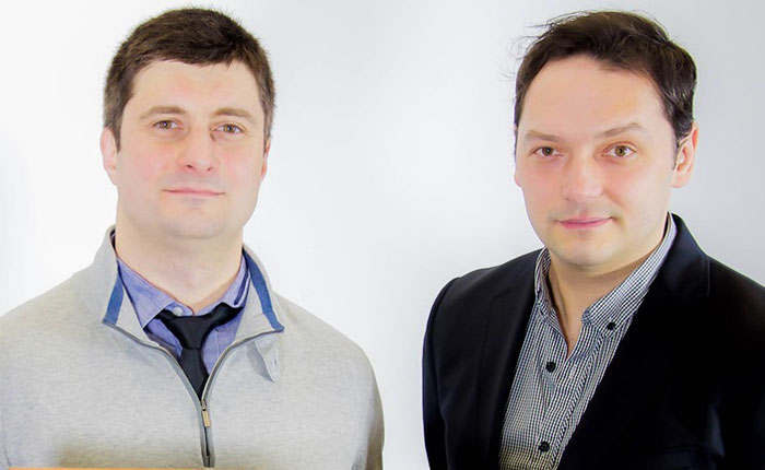 The Inecsy team Vladimir and Vladislav