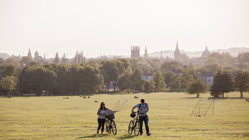 Brookes joins city partners to present Oxford Green Week 2017