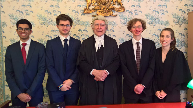 Law students successfully defeat University of Oxford in latest mooting match