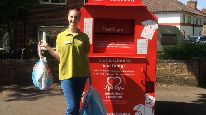 Students Pack for Good to raise money for British Heart Foundation
