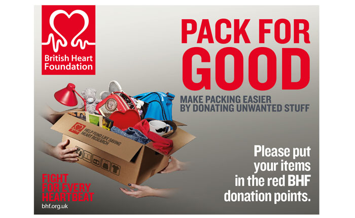 Pack for Good British Heart Foundation