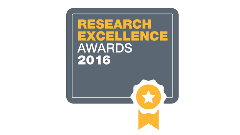 Introducing the winners of the inaugural Research Excellence Awards