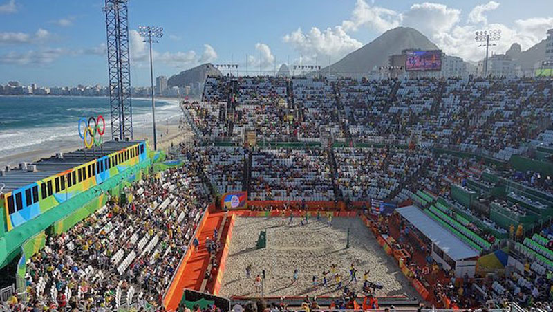 Beach Volley at Rio 2016