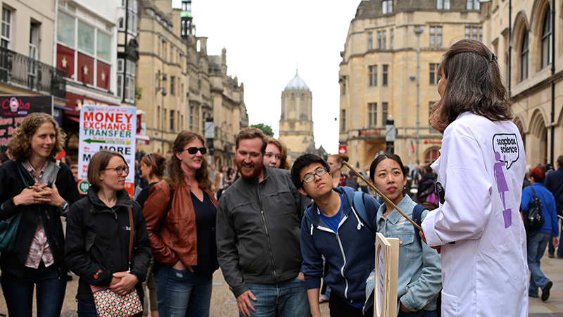 Soapbox Science Oxford