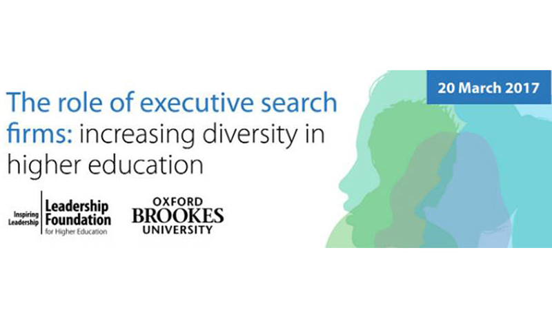 Could executive search firms hold the key to increasing diversity in our senior leaders?