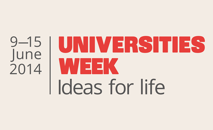 Universities Week 2014 logo