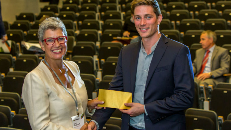 Graduate's reusable coffee cup business wins funding at Venturefest Oxford