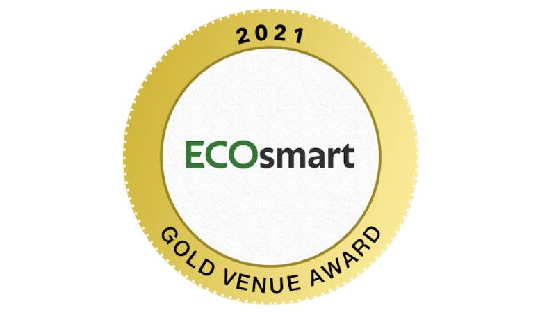 Gold sustainability accreditation for Oxford Brookes Venues