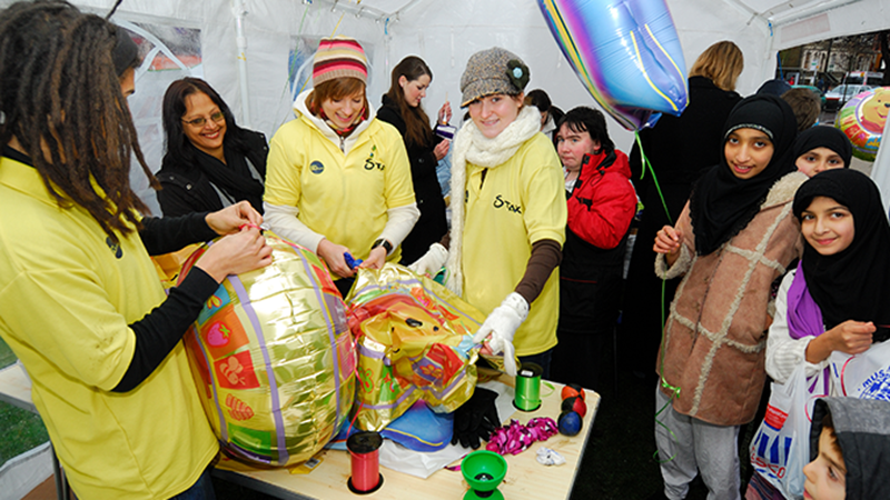 Oxford Brookes students make a real difference for Student Volunteering Week