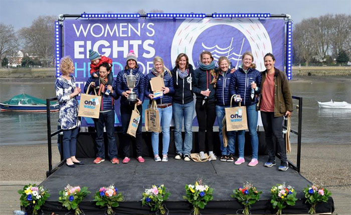 GB women's eights crew