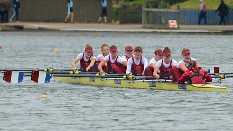 Women's Rowing team at BUCS