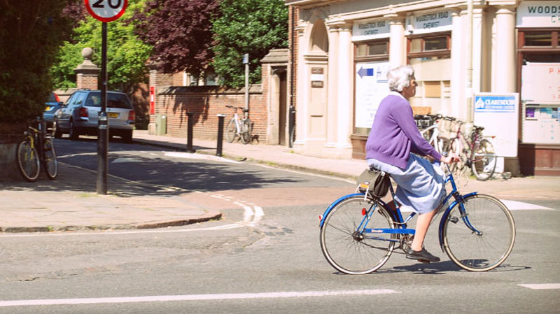 UK lagging behind Europe in supporting and prolonging cycling among the older population