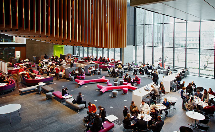 John Henry Brookes Building interior