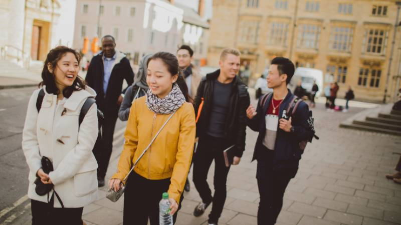 Oxford gets ready to welcome back university students