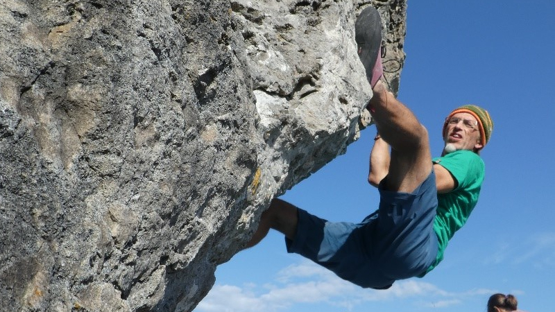 Climbing and anxiety during isolation