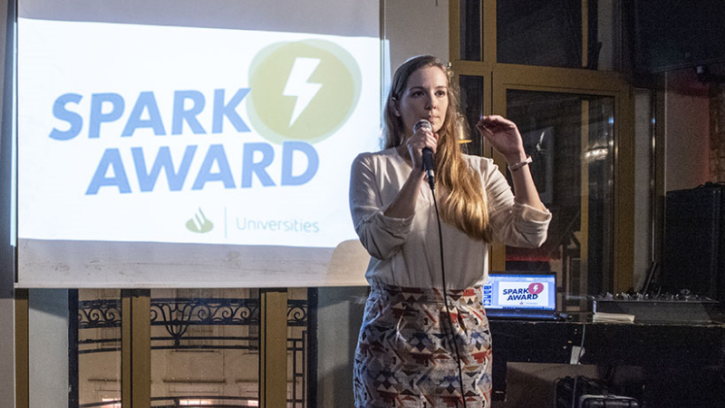 Pitch@The Zoom - The SPARK Award 2020