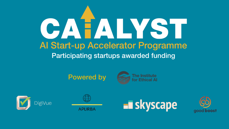 Four AI-based startups awarded with £40,000 funding at the valedictory session of CATALYST 2020