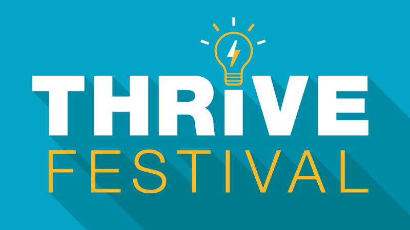 November's THRIVE festival now open for registrations!