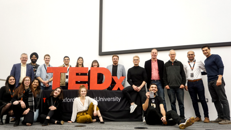 TEDx Oxford Brookes awarded the Societies Fund, and host first event of the year!