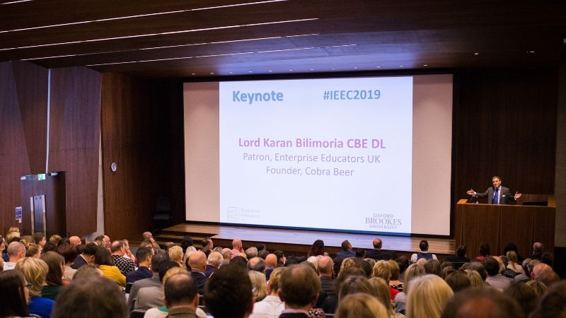 300 Global Delegates attend 14th International Enterprise Educators Conference (IEEC) at Oxford Brookes