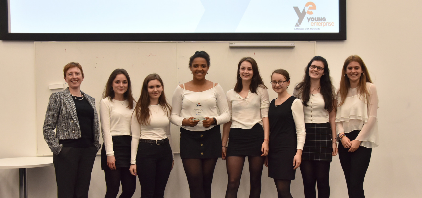 Young Enterprise Company of the Year Awards 2019 at Oxford Brookes University