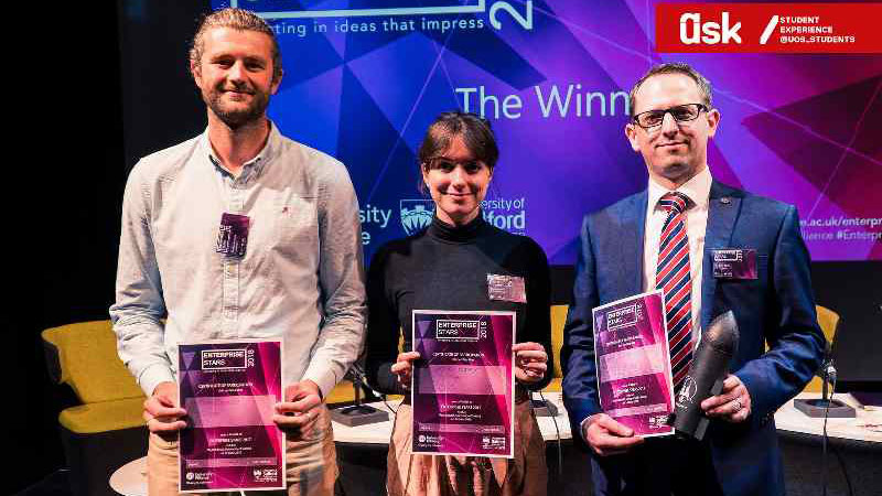 Sophia wins investment at Enterprise Stars