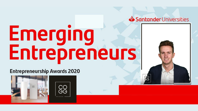 Brookes Grad to pitch at Santander Semi Finals with COGG Coffee