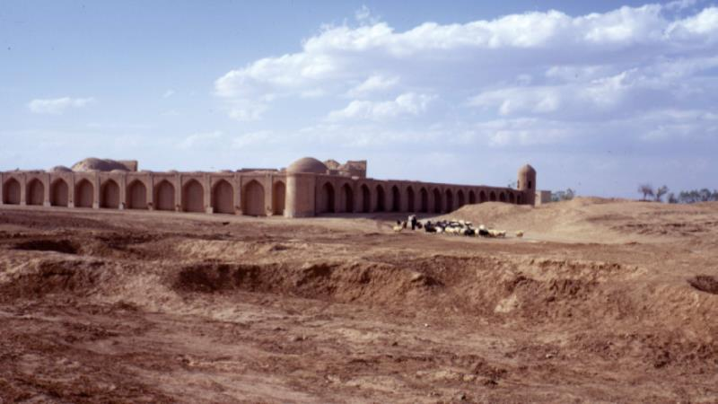 Image: Caravanserai, 1973 from The Bazaar of Isfahan