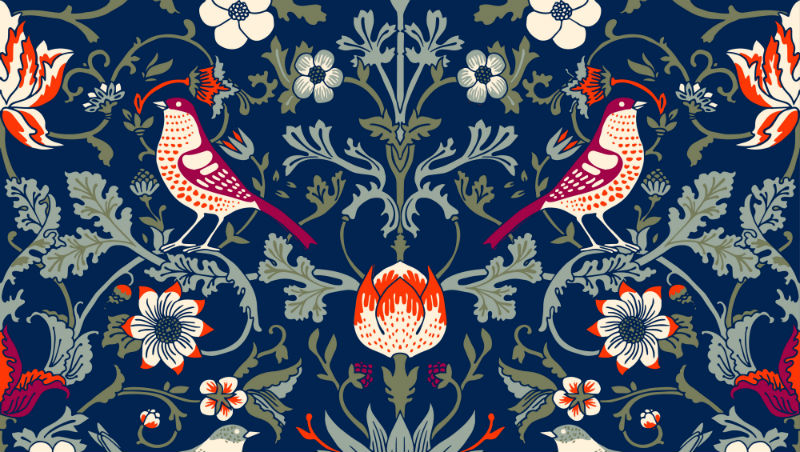 William Morris style design